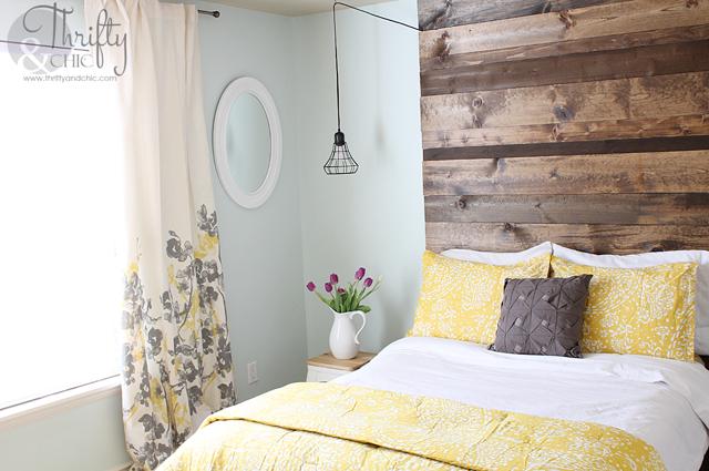 floor to ceiling wood headboard 2