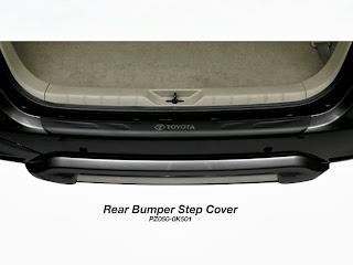 innova rear bumper