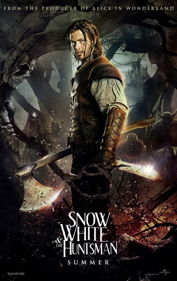 Trailer Branca de Neve e o Caçador