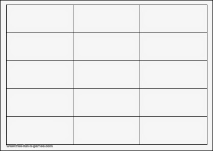 Blank Word Cards to print