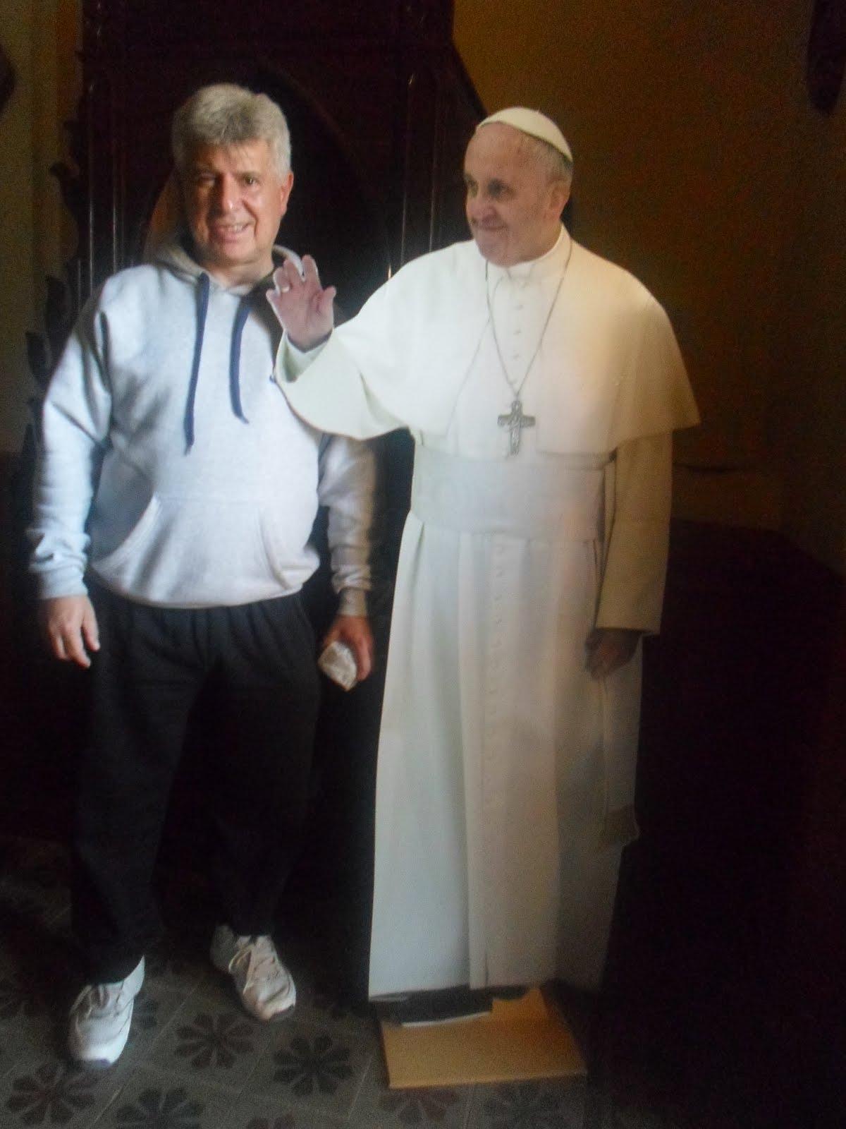 Gracias por su bendicion Santo Padre