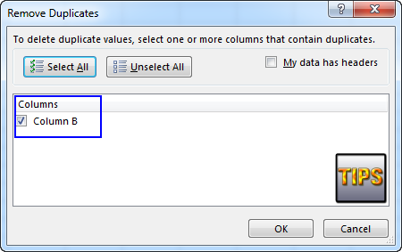 how to delete duplicate values in excel