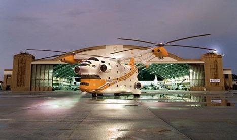 7 Gambar Hotel Mewah Dalam Helikopter - Terbakor
