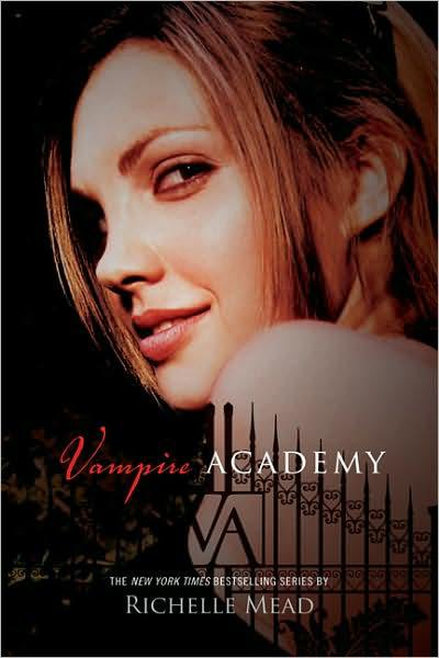 Vampire academy Richelle mead book cover portada