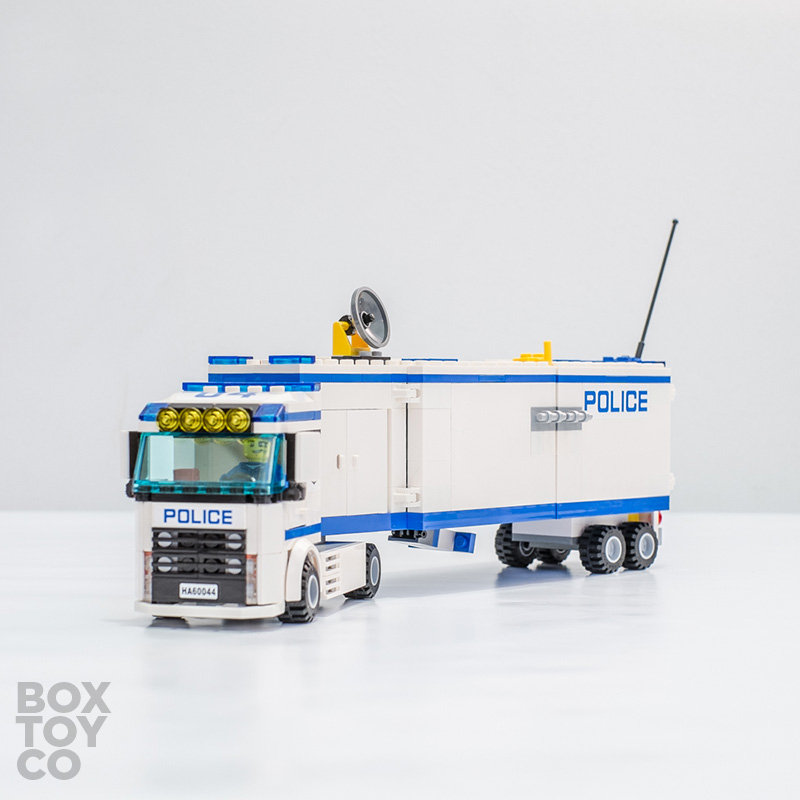 Lego City Mobile Police Unit 60044 Overview Boxtoy