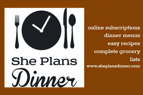 She Plans Dinner - keep your meal planning organized :: OrganizingMadeFun.com