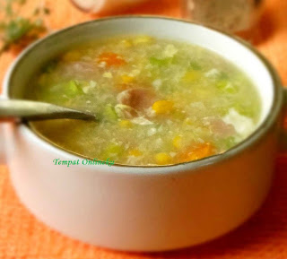 Resep Cara Membuat Sup Jagung Kental Corn Soup