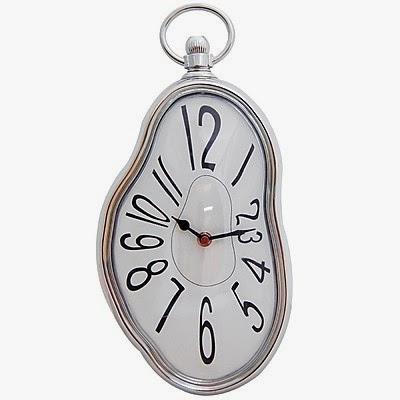 Reloj Dalí de pared blando