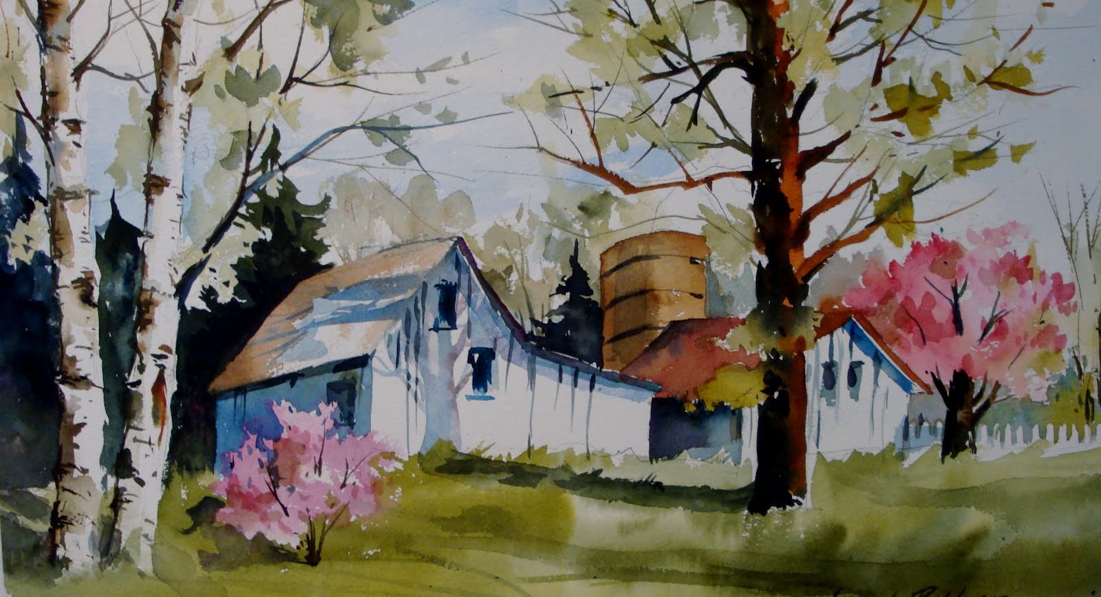 Kathy Los-Rathburn, watercolorist: March 2012