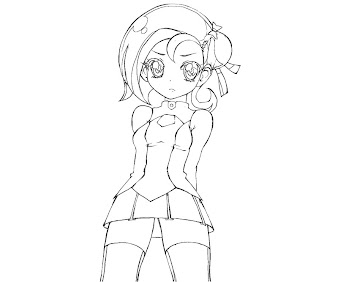 #2 Kotori Mizuki Coloring Page