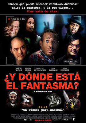 Y Donde Está El Fantasma? 2013 DvdRip Latino MG