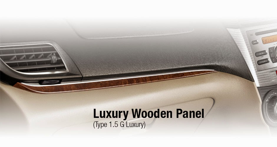 Interior avanza luxury 2015
