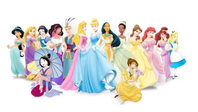 todas las princesas disney