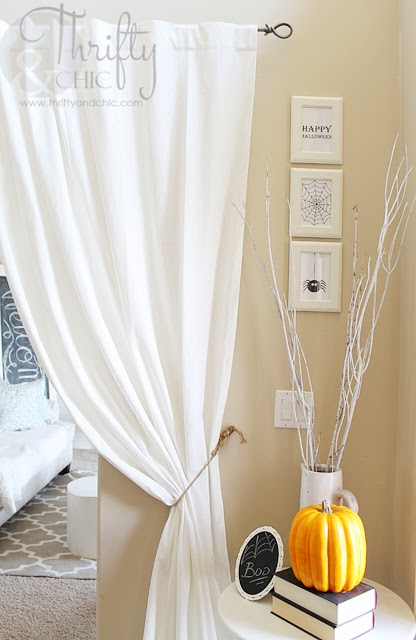 Simple Halloween Vignette