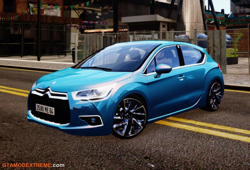 Download carro Citroen DS4 2011 Para GTA IV