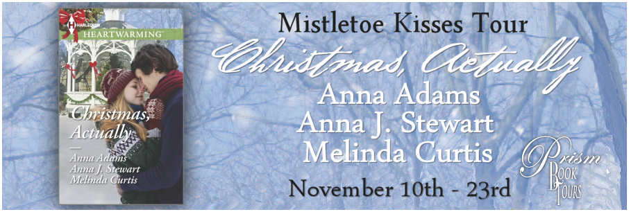 Christmas, Actually by Anna Adams, Anna J. Stewart, and Melinda Curtis