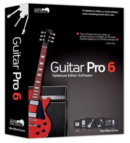 Download Free Guitar PRO v6.1.5 With Keygen