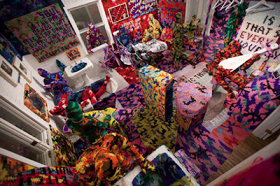 Crochet Art of Olek Seen On www.coolpicturegallery.us