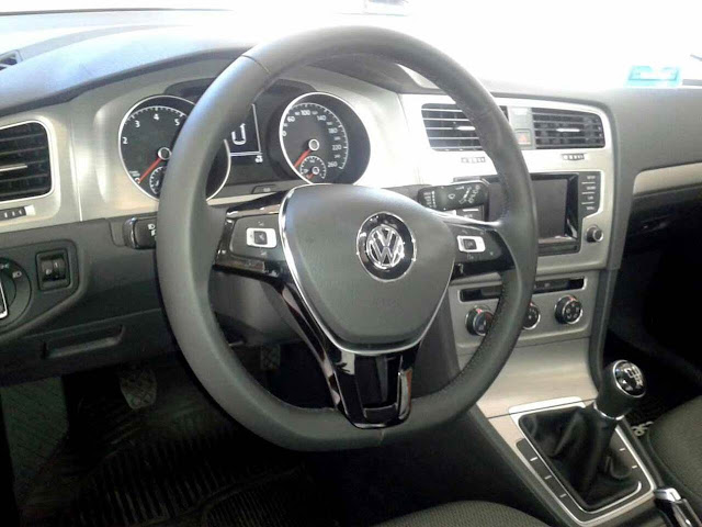VW Golf 2016 1.6 16V Trendline - interior