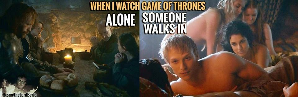#GameOfThrones Happens Every Fucking Time #Season4 meme