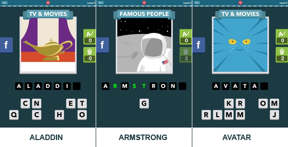 Icomania: cheats, hints, help, solutions and answers - Level 2