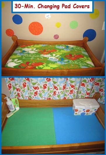 30 Min Changing Pad Covers