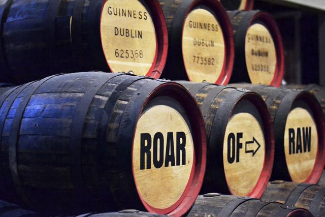 Guinness, storehouse, dublin, brewery, barrels, irish beer
