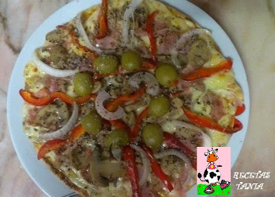 PIZZA DE ATÚN...