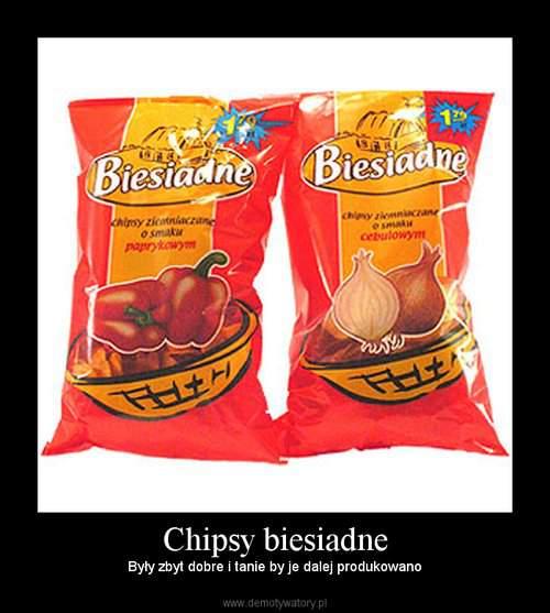 chipsy biesiadne