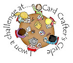 Winner at Card Crafters Circle.