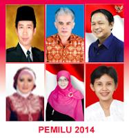 Daftar Calon Tetap Anggota DPR Jawa Timur 2014 PDI-P