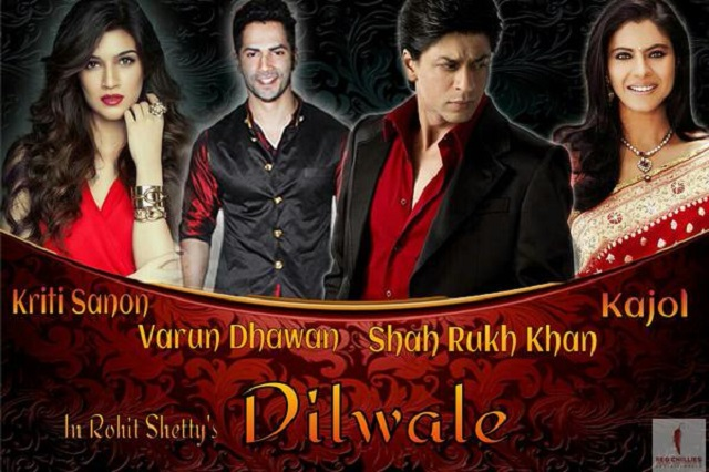 10 Hari Tayang, Filem Dilwale Catat Kutipan Box Office AS$16.7 Juta