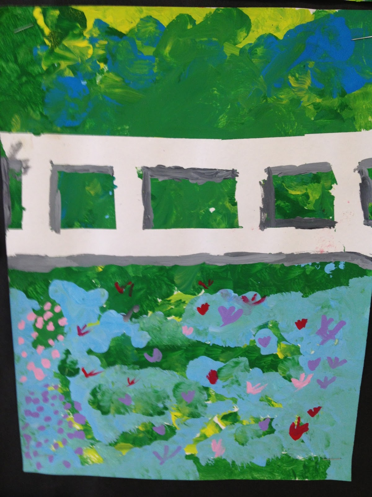 COLOR for EVERYONE: Second grade Impressionistic Painting