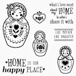 CTMH's March Stamp of the Month - Happy Place (S1403)