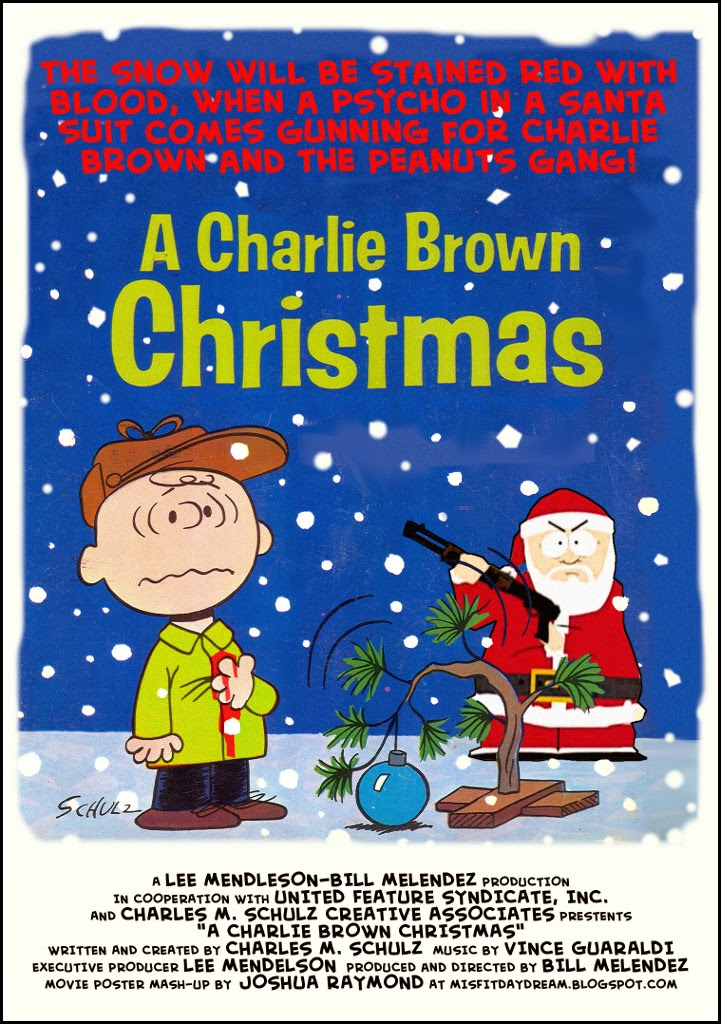 mixed up movie posters 3 a charlie brown christmas - Charlie Brown Christmas Movie