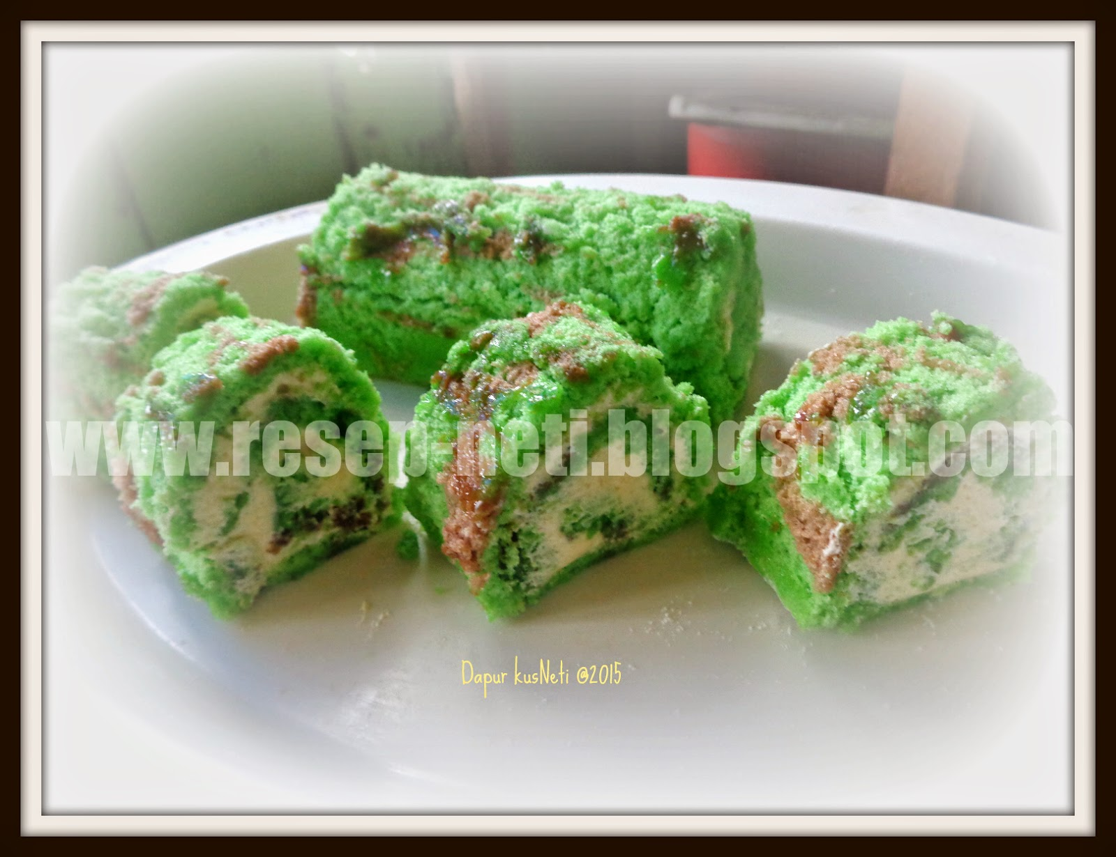 Simple Roll Cake Recipe at kusNeti kitchen @2015