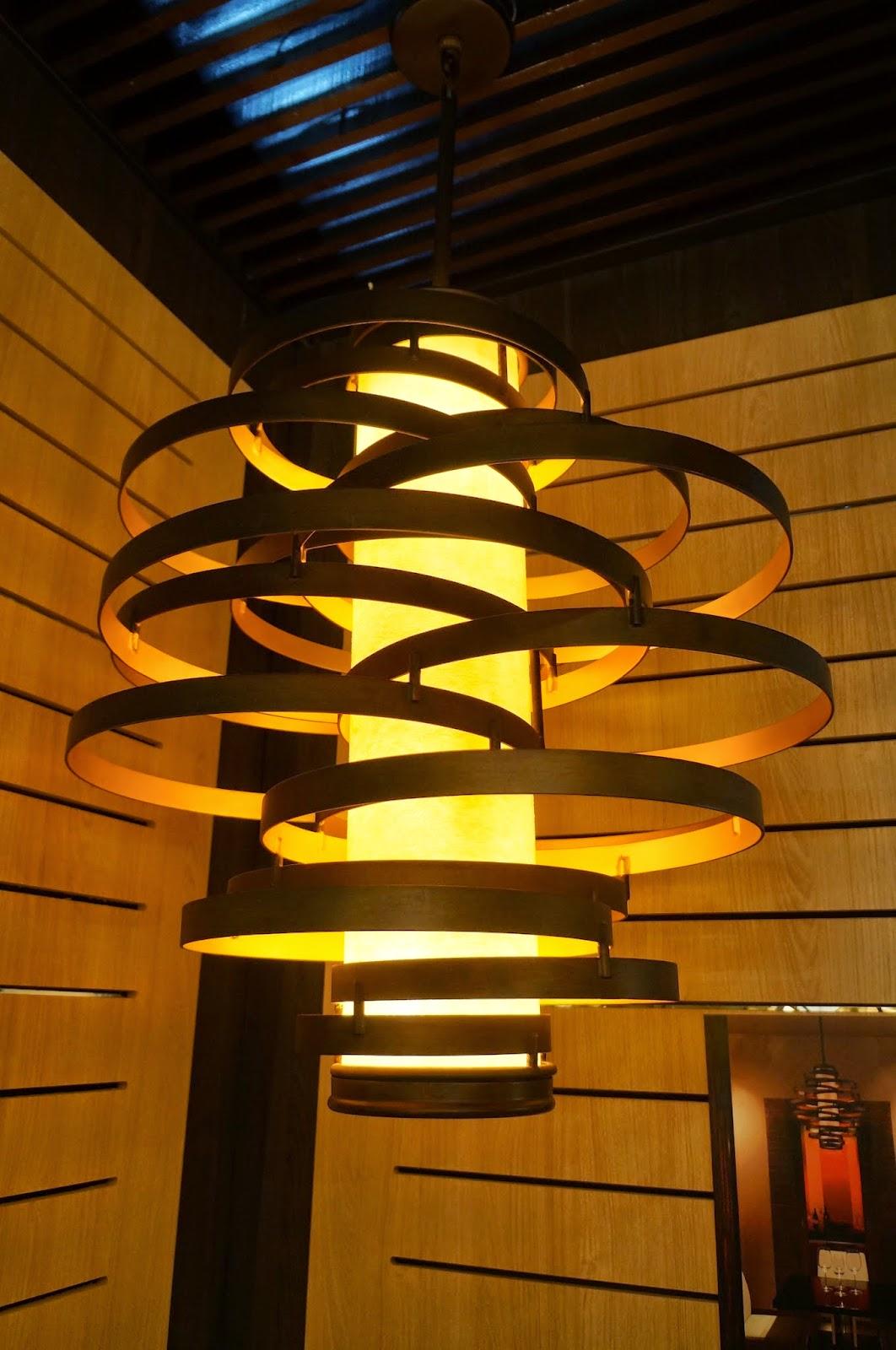 pendente Vertigo de ferro forjado à mão - Corbett Lighting - Expolux 2014