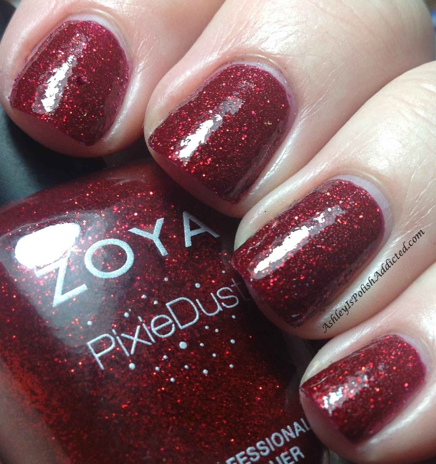 Ashley is PolishAddicted: Zoya Pixie Dust Collection 2013