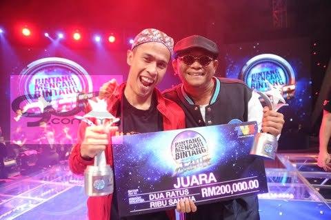 Achey Juara Program Bintang Mencari Bintang