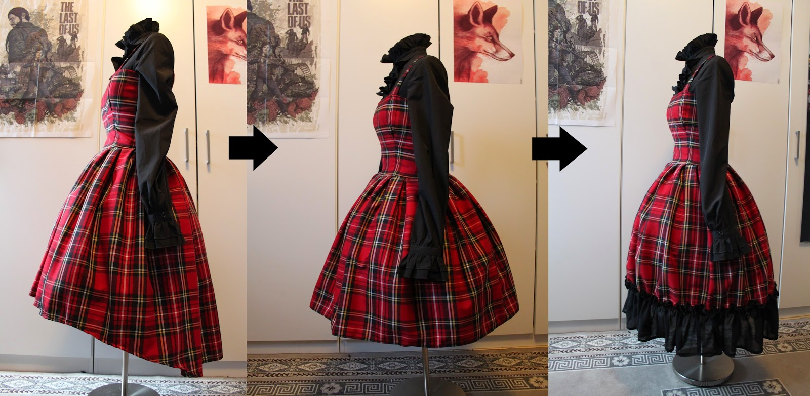 how to make a short dress appear longer