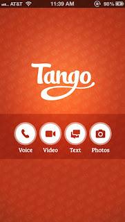 Tango for iphones
