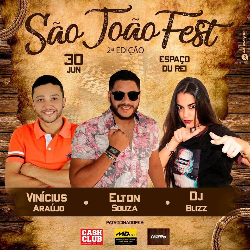 São João Fest 30 JUN Espaço Du Rei Curais Novos