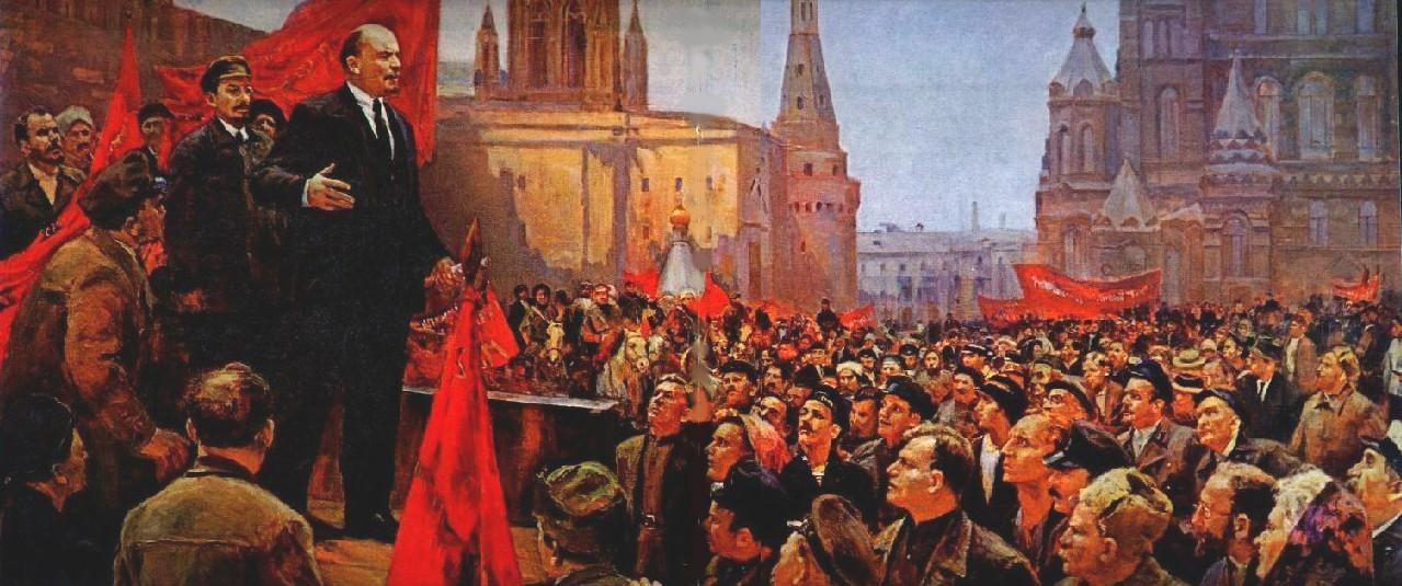 Lenin (Pablo de Rokha) Discurso+de+Lenin+en+la+plaza+roja.+D.+Nalbandian.1970