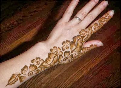 Mehndi Designs Of Back Hand : Bridal mehndi designs back hand wallpapers free