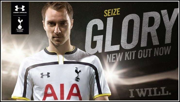 Tottenham Hotspur Home Kit 2015