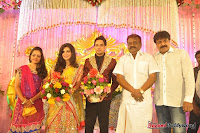 Celebraties at Actor Bharat n Jessy Wedding Reception Photos+%252856%2529 Actor Bharath n Jessy Wedding Photos
