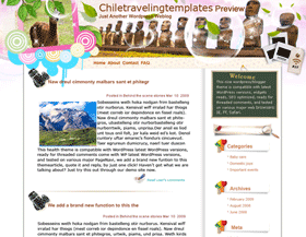 Go 2 Chile Blogger Templates
