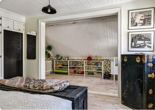 Dormitorio principal nórdico