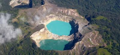 Danau Kelimutu, Danau Indah Tiga Warna di Flores Indonesia