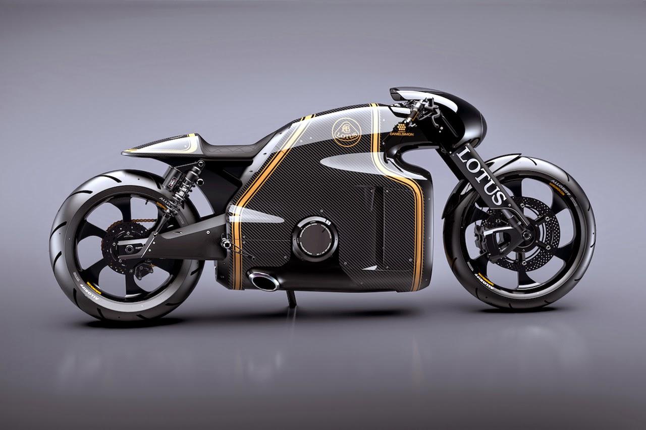 Moto Lotus C-01 y Tron